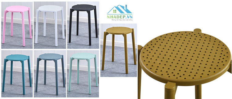 Ghế Cafe Small round chair MS1630 (BW106)