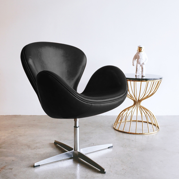Ghế da Swan chair SL450