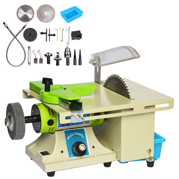 Máy cưa bàn mini TABLE SAW WITH ROTARY TOOL BG-3110