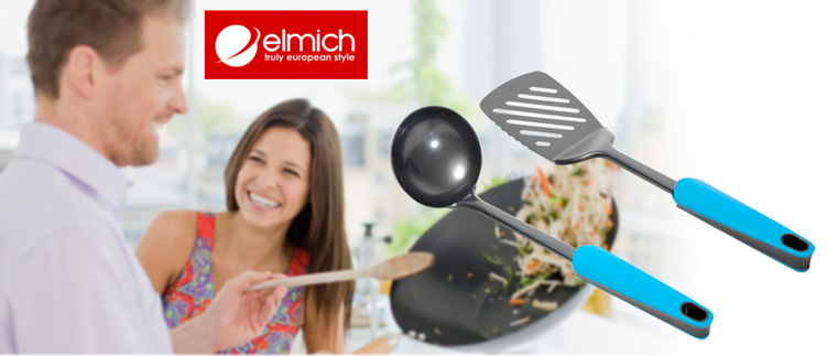 Combo muôi canh & xẻng lật smartcook (2325758 + 2325757)