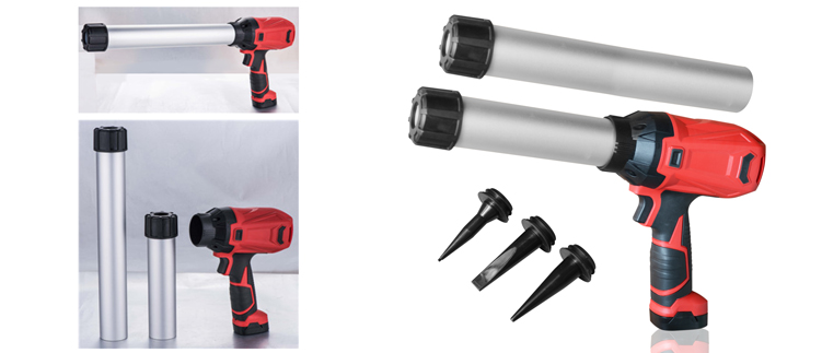 Súng bắn keo Pneumatic caulk gun pin Lithium PZ380
