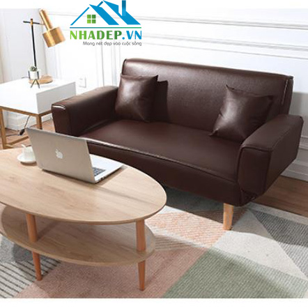Sofa Bed da PU 2in1 Z3-1 (tặng 2 gối)